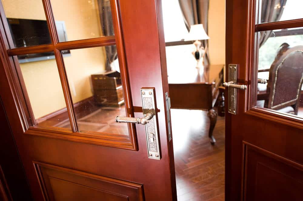 Sobna vrata sa staklom
